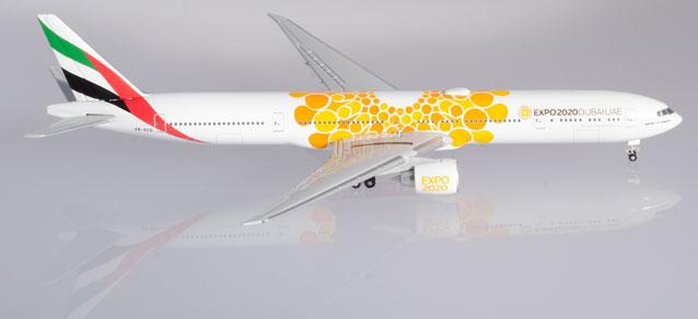 HE527507 Herpa Wings Transaero 777-300 1:500 Model Airplane